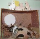 halloween-diorama